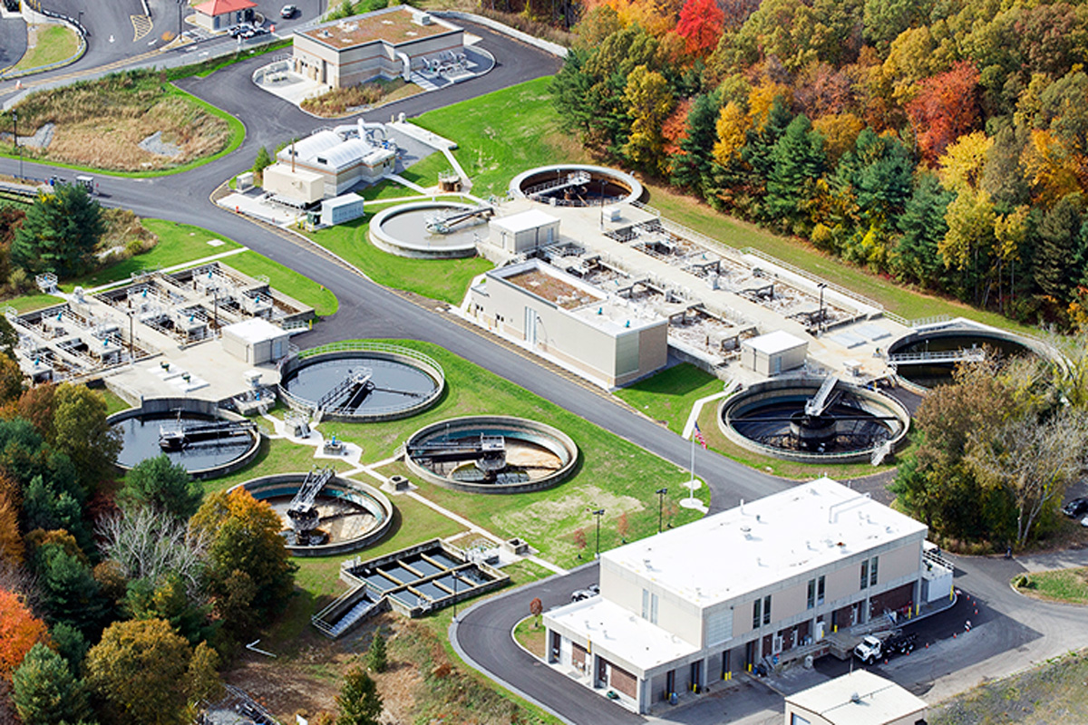 The newly expanded Marlborough Easterly Wastewater Treatment Plant
