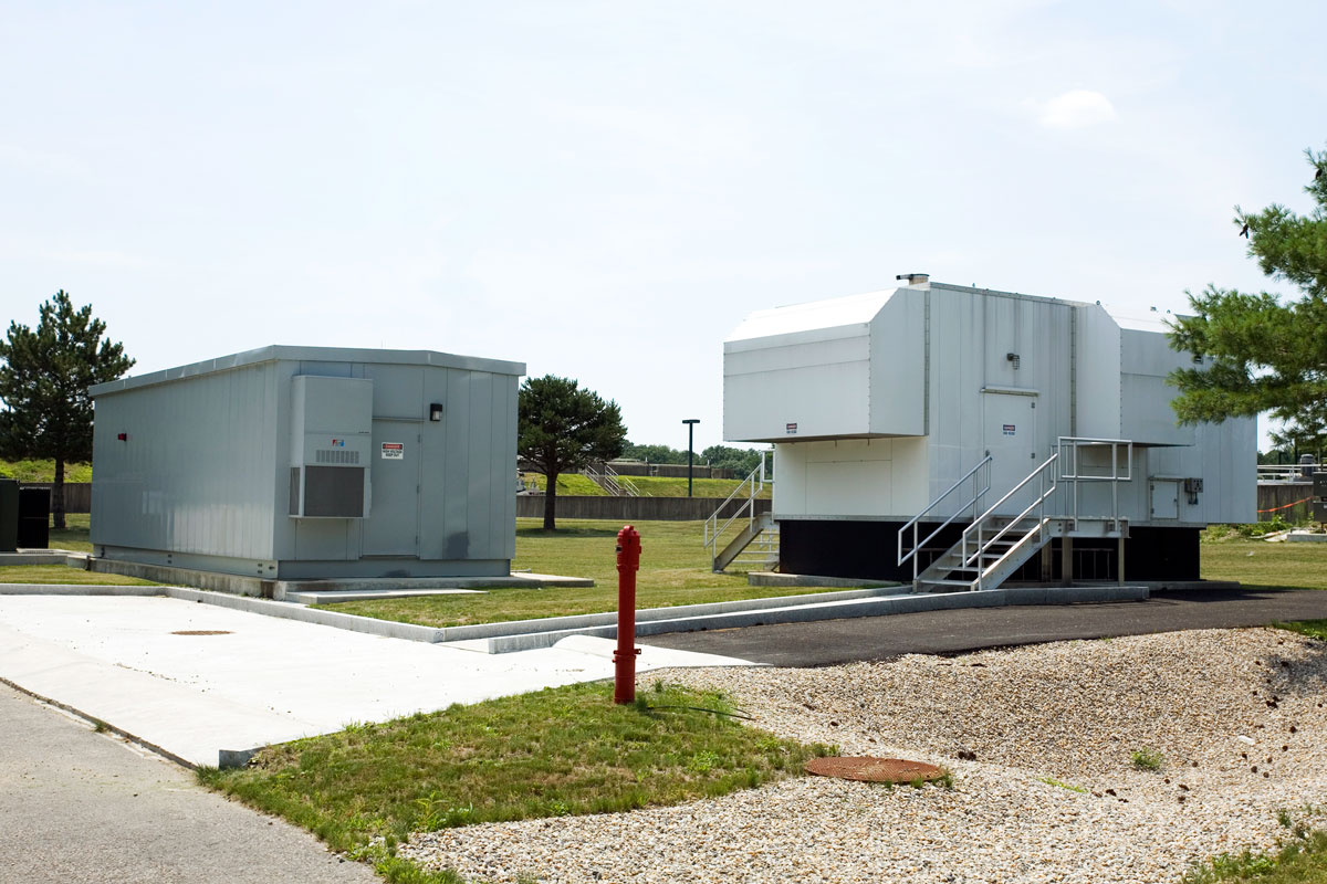 Backup generators were a key component of the Attleboro project