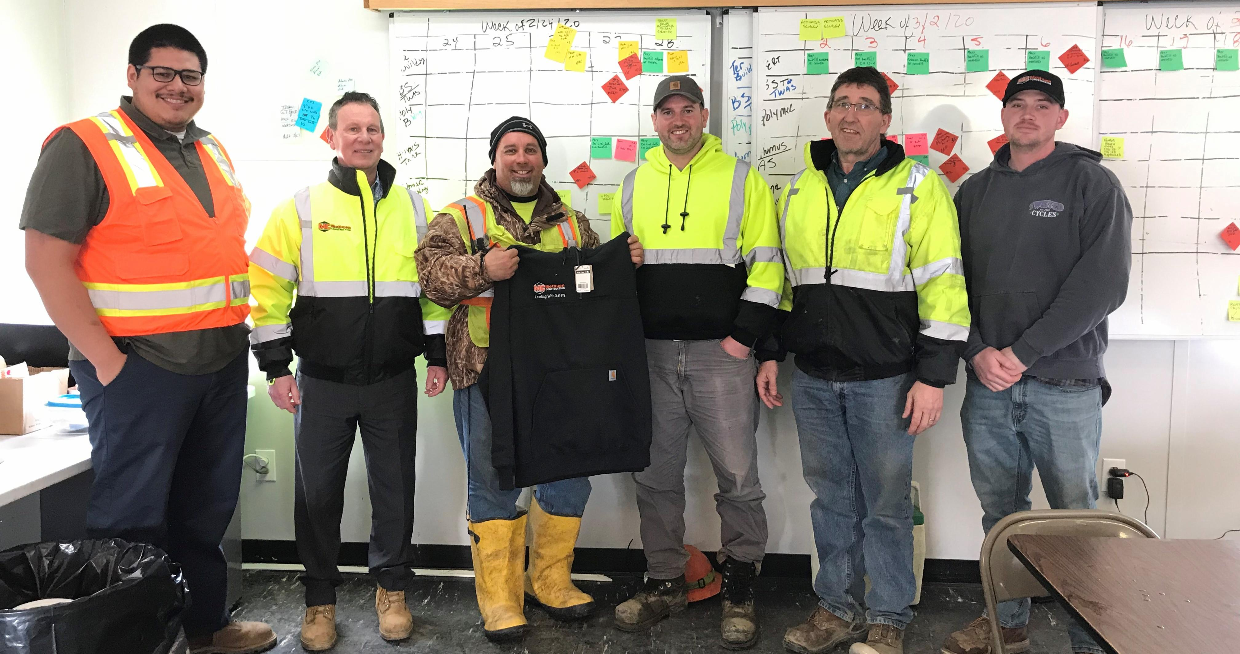 Leading With Safety - Safety Recognition
