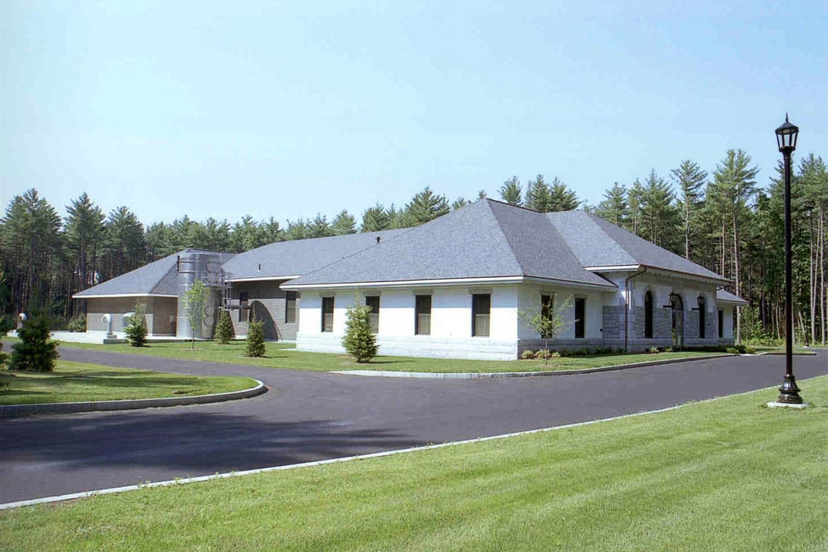 One of the new water treatment facilities in Westford, MA
