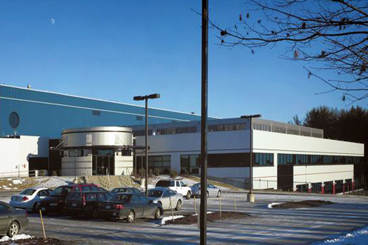 Completed Lonza facility in Portsmouth, NH