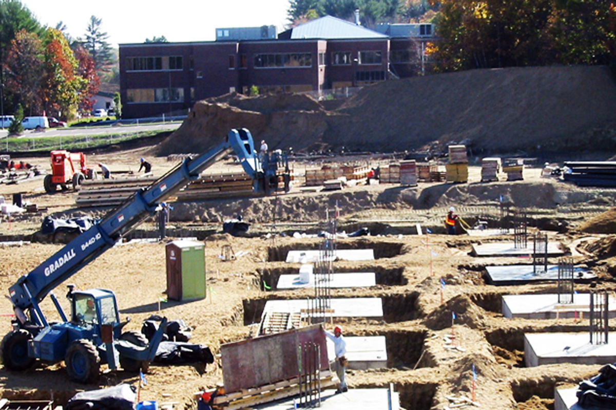 Construction of the new facility in Portsmouth, NH